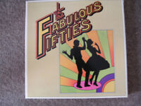 Box Set of 10 Record LPs. Fabulous Fifties. All in original sleeves.