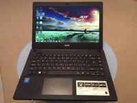 The Acer Aspire ES1-411 laptop