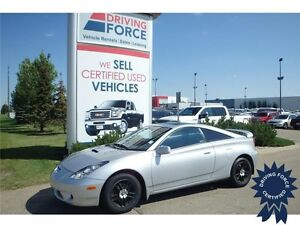 2002 Toyota Celica GT w/ Front Wheel Drive, A/C, 127,100 KMs