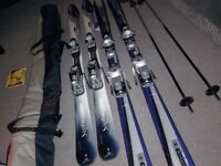 Men's and women's skis