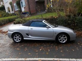 2003 MG TF 135 (1.8) COOL BLUE Edition Lovely condition. Mot 20 Nov 2018. Looks and drives superbly.