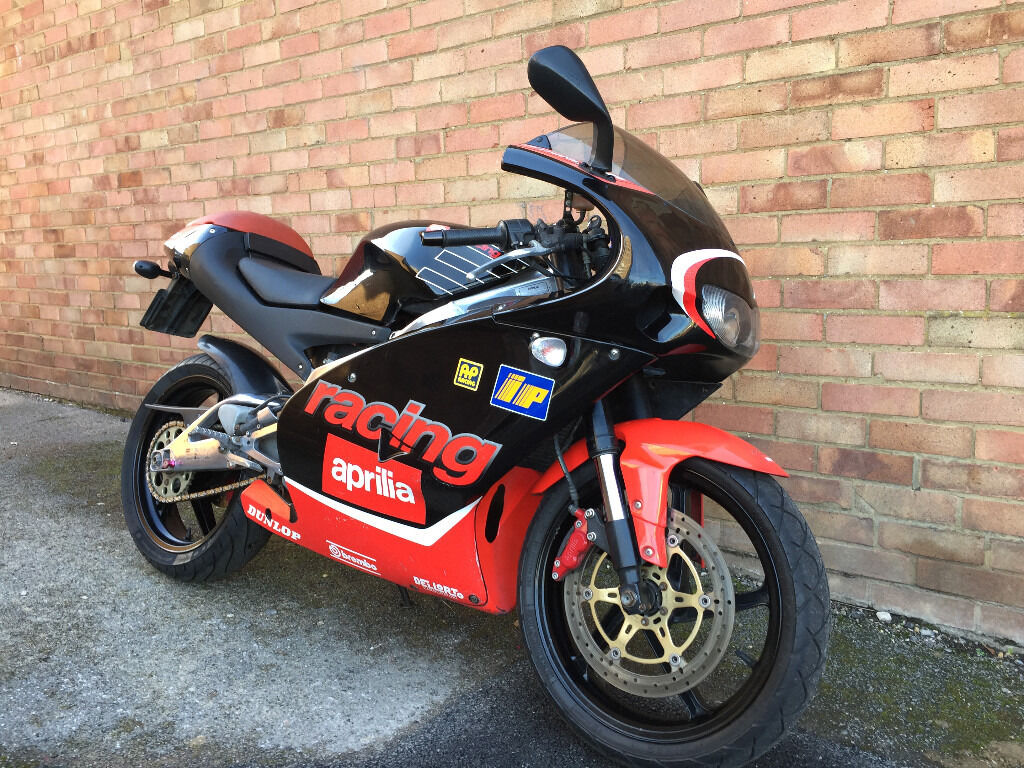 aprilia rs 125 replica racing 2001 rs125 in wood green london gumtree. Black Bedroom Furniture Sets. Home Design Ideas