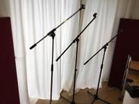 microphone stands £10 each