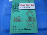 1957 Know Your Car Book