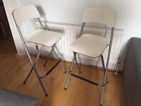IKEA Franklin bar stools x 2