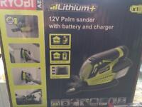 Brand new 12v palm sander