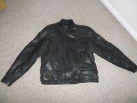 Leather Belstaff motorcycle jacket. size 48.