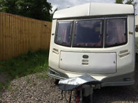 2005 2 berth caravan no damp new awning loads of extras ready for summer 1116 maw 17.5 feet long