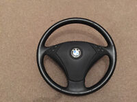 GENUINE BMW E60 STEERING WHEEL + AIRBAG