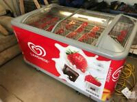 Walls Ice Cream Freezer Complete With Holders - £400