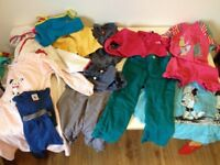 Variety of designer kids clothes age 3