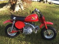 1982 Honda z50r classic 50cc motocross monkey bike z50 scrambler vintage mx collectors