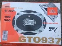 """JBL GT0937 Car Speakers 300 Watts, 6"""" x 9"""", 100 Watts RMS, Pair of two"""