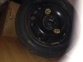 Spare wheel rim trye
