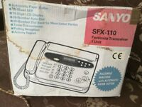 QUICK SALE ON SANYO FAX MACHINE!!