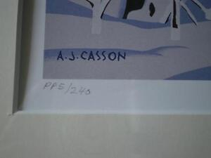 "A.J.Casson-""Snow Laden Spruce"" Limited Edition Print Kitchener / Waterloo Kitchener Area image 4"