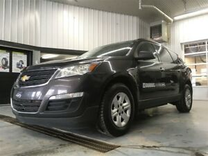 2015 Chevrolet Traverse LS + AWD + 8 PASSAGERS