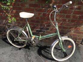 3speed vintage hipster Folding Bike.
