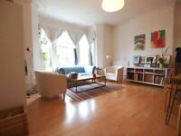 A bright 2 bedroom ground floor flat with in a period conversion with a private garden in Crouch End