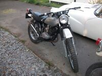 SUZUKI TS125J 1971 RUNS WELL STOPS WELL ,PROJECT,BARN FIND CAN DELIVER