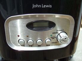COFFEE MACHINE with on/off timer, permanent gold filter and insulated jug
