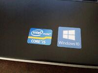 Win 10 Dell Laptop - i5 CPU/4GB RAM/HDMI/Webcam/Office 2013 - Back-lit keyboard