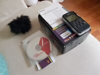 Sony PCM-M10 Audio Recorder - Boxed with Windshield, Remote, Mains Adapter, Manuals