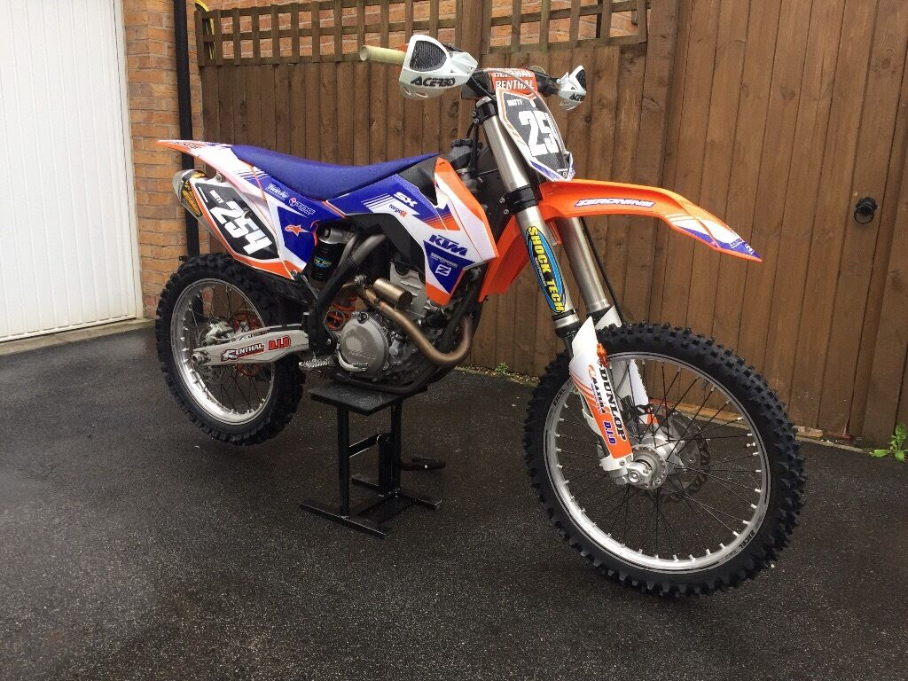 ktm 250 sxf 2013 40 hours mint condition no kxf crf yzf rmf 350 450 in selby north. Black Bedroom Furniture Sets. Home Design Ideas