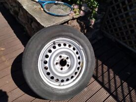 FORD TRANSIT CONNECT WHEEL & TYRE