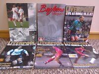 Liverpool Official Match Day Magazine UEFA Champions League 2001/02 CAN POST LFC Memorabilia