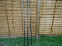 Fox carp fishing rods