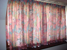 Bedspread and curtains