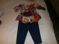 girls ted baker set age 6-9 months