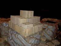 Sand stone facing block ( new on pallet )
