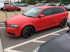 Audi A3 sline 08 79k