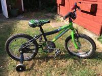 "T Rex Probike 16"" Wheels Childs Bike"