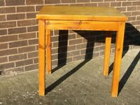 Pine kitchen table for 2