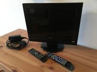 "Cello 15"" Wide Screen LCD TV with DVD Player"