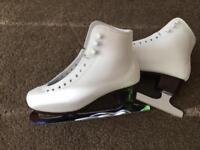John Wilson Ice skates size 6