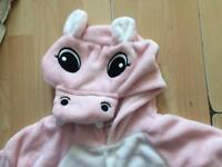 Hippo onesie fancy dress
