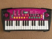 Children's mini cyber piano keyboard - £8 ono