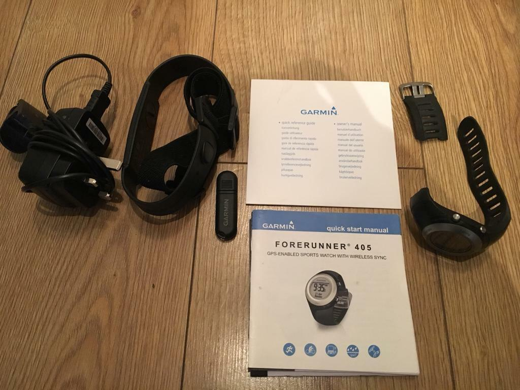 Garmin 405 Forerunner with Heart Rate Monitor