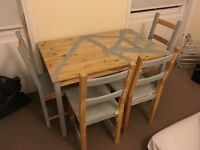FREE IKEA table and four chairs