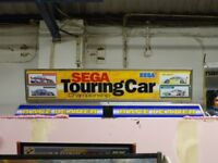 LARGE MARQUEE/BILLBOARD UNITS, TOP SIGN/FLASH, ARCADE MACHINE SIGNS