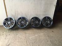 audi 18 inch alloy wheels