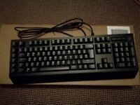 Alienware Advanced Gaming Keyboard - AW568 - UK (QWERTY) (Never Used)