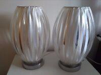 Lamps and matching shade