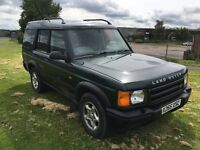 X REG LAND ROVER DISCOVERY2 2.5 TD5 ES 5DR-12 MONTH MOT-7 SEATS-GREAT SPEC -NEW BRAKE DISCS 7 PADS