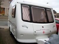 Elldis Avante 342 2 Berth Light weight Caravan