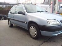 CITROEN SAXO 1.1 50 MPG AND LOW INSURANCE! 12 MONTHS MOT! GOOD SMALL CAR WITH LOW RUNNING COSTS! 395
